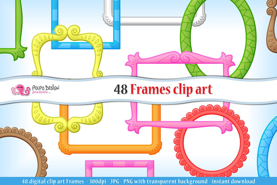 Frames clip art example image 1