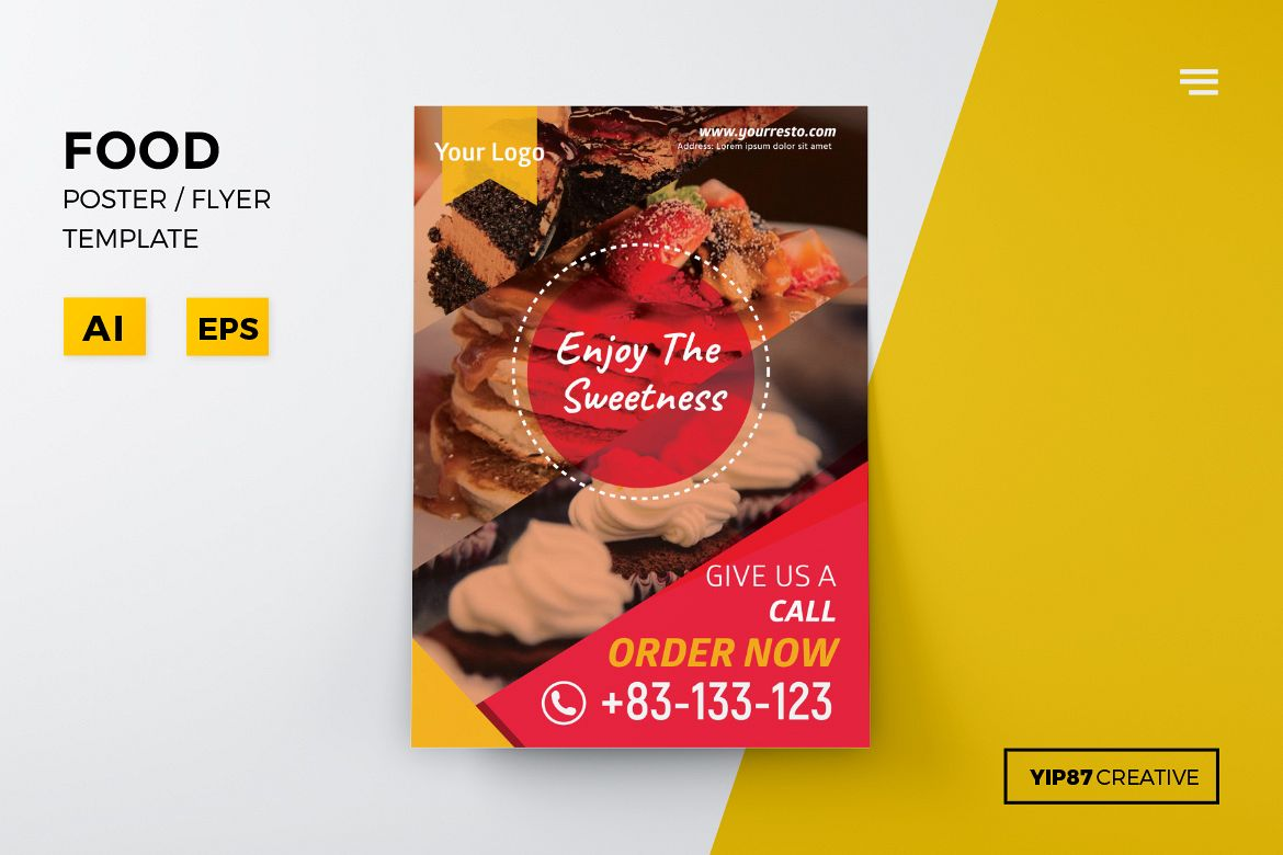 Food Flyer example image 1