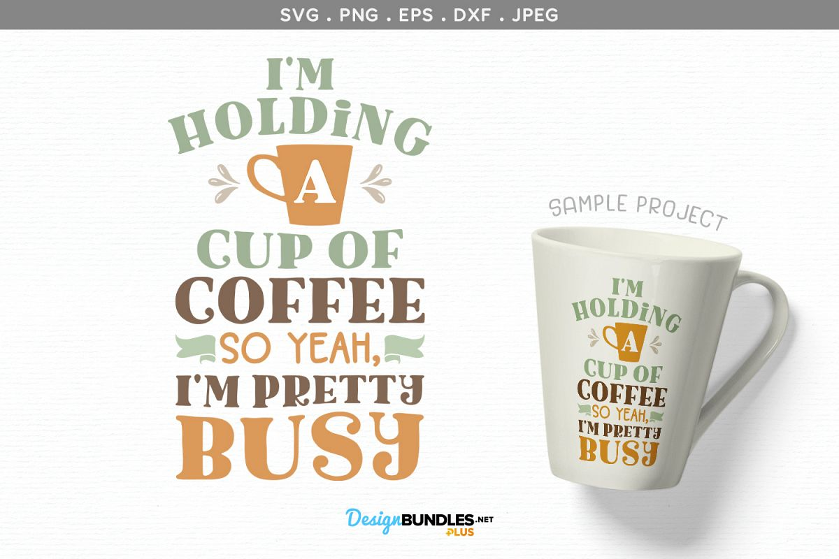 photograph relating to Coffee Cup Printable named Im Trying to keep a Cup of Espresso - svg, printable