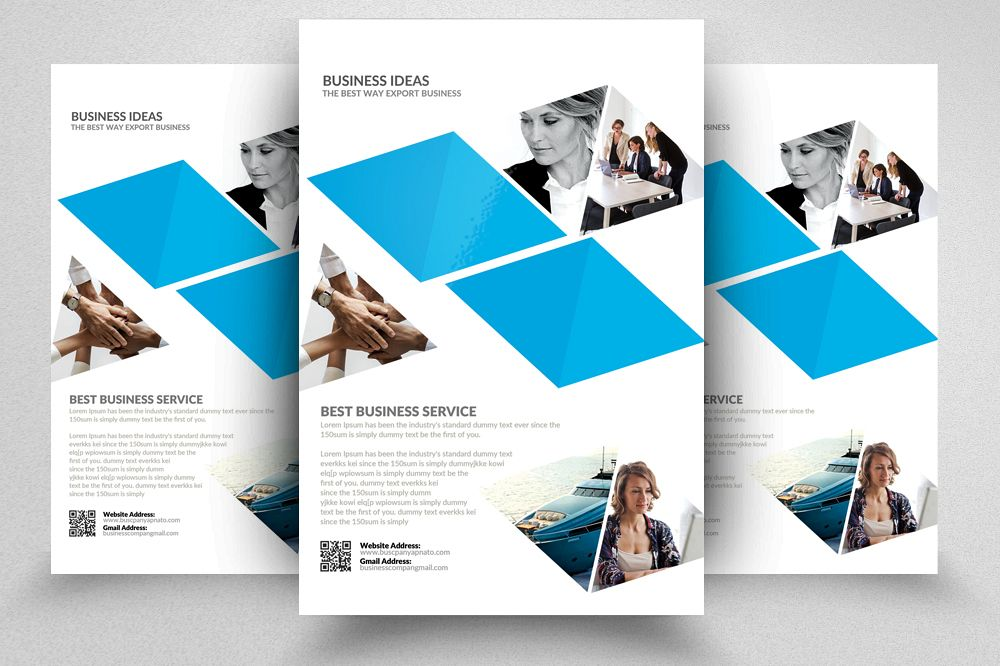 Contractor Flyer Templates example image 1