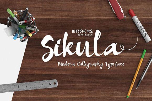 Sikula Font example image 1