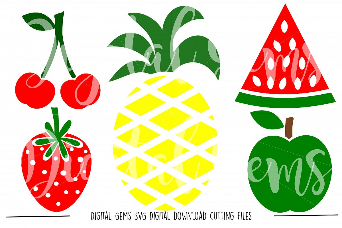 Fruit SVG / PNG Files example image 1