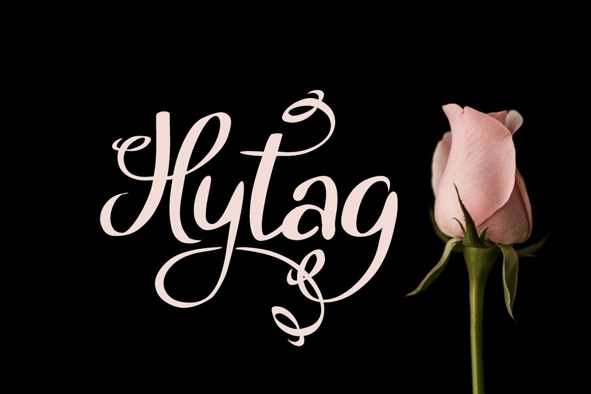 Hytag font example image 1