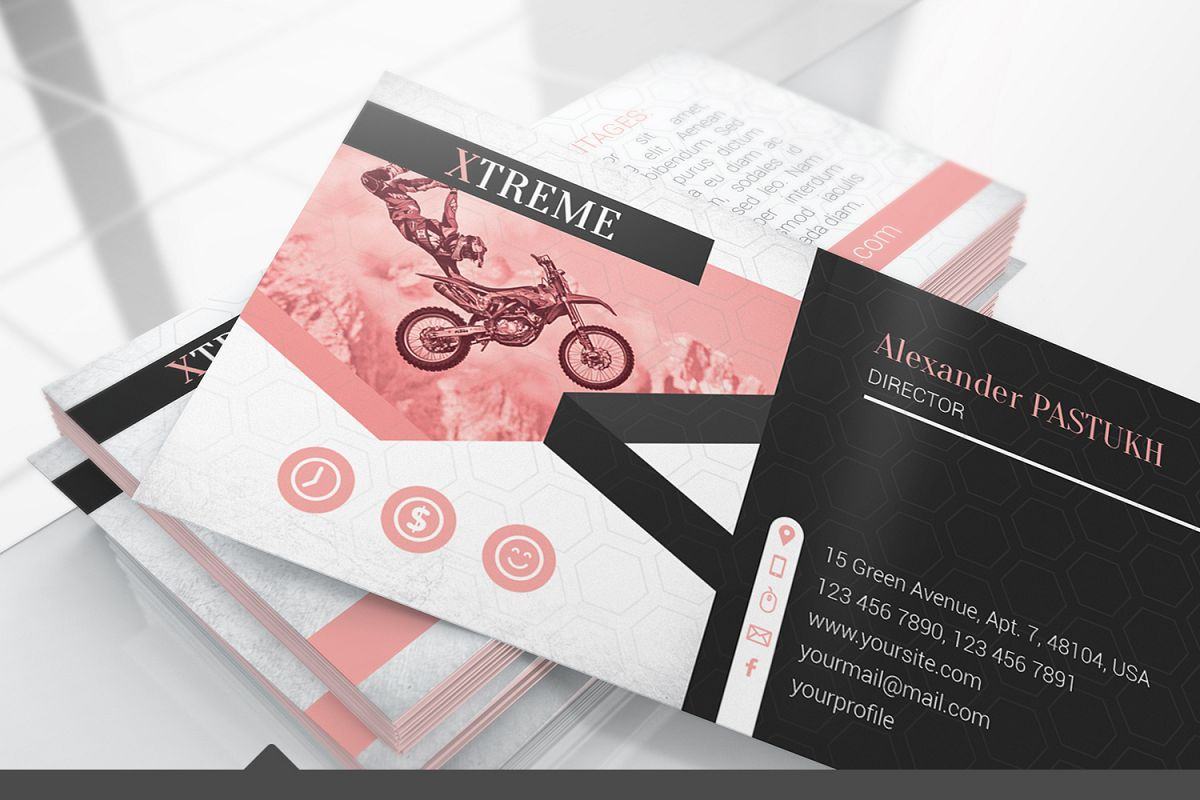Business Card Mockups example image 1