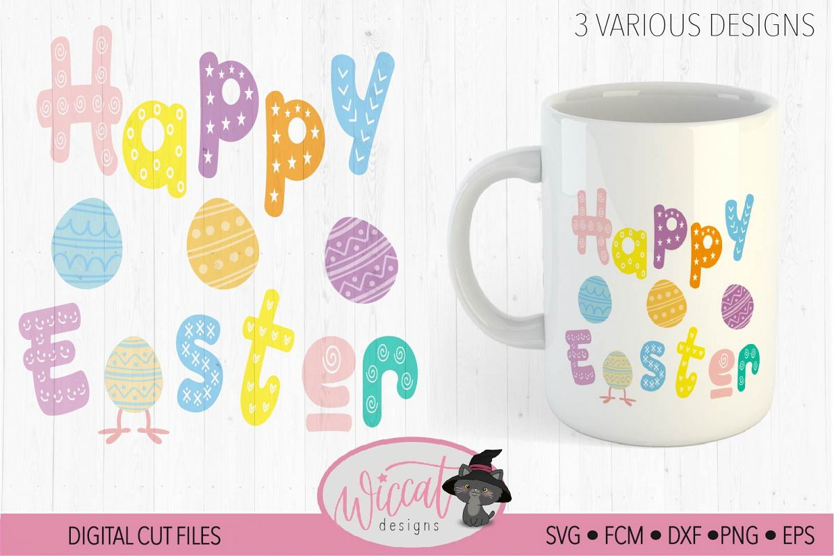 Happy Easter, Quote svg, Funny Easter svg, Easter svg, example image 1
