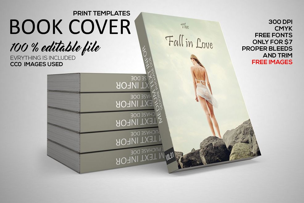novel book cover template