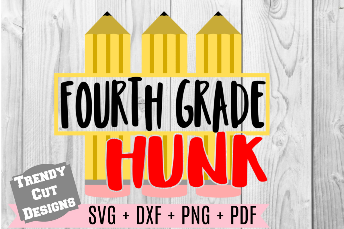 Fourth Grade Hunk, Back to School example image 1