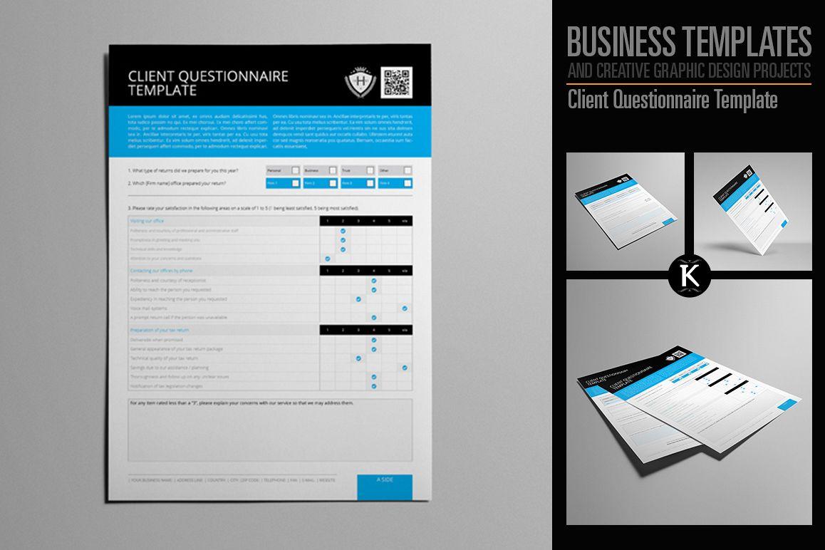 Client Questionnaire Template example image 1
