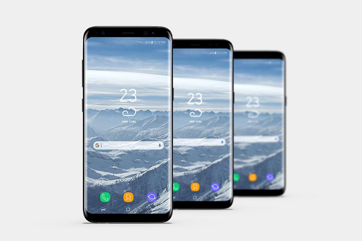 Smartphone Mock-Ups Vol. 2 example image 1