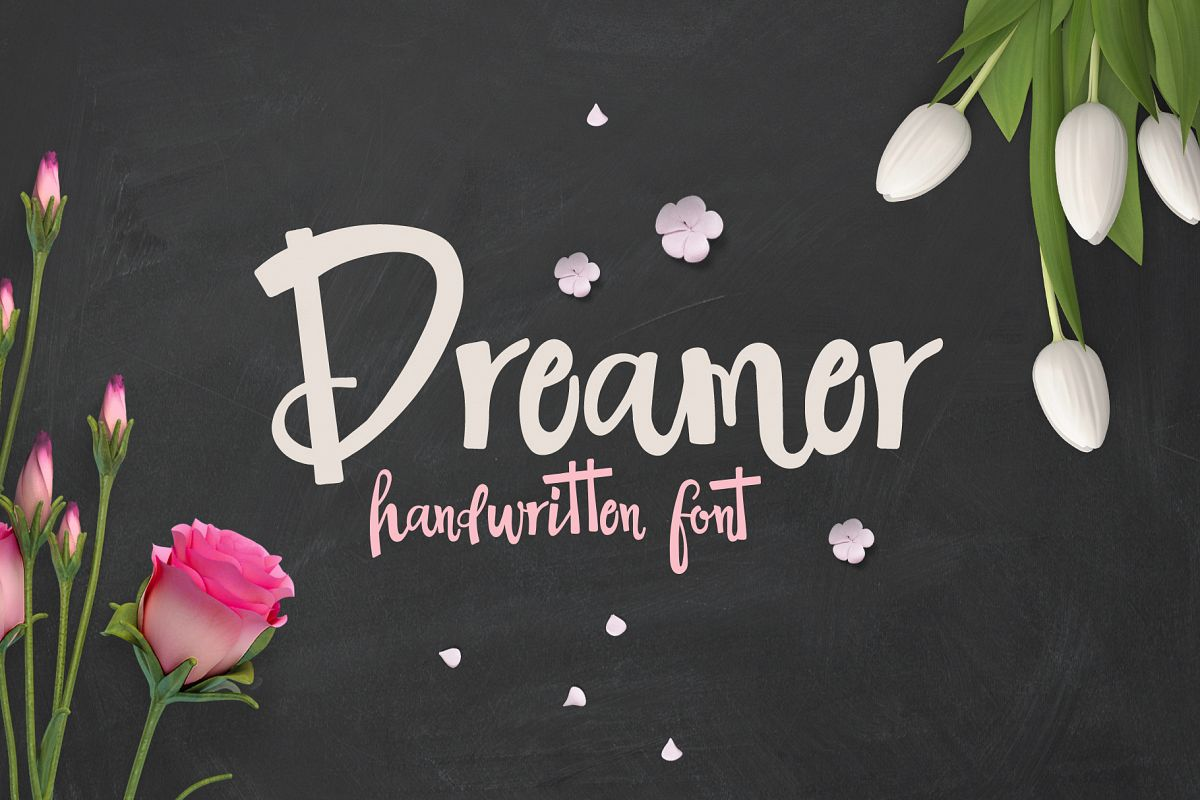 The Dreamer Font example image 1