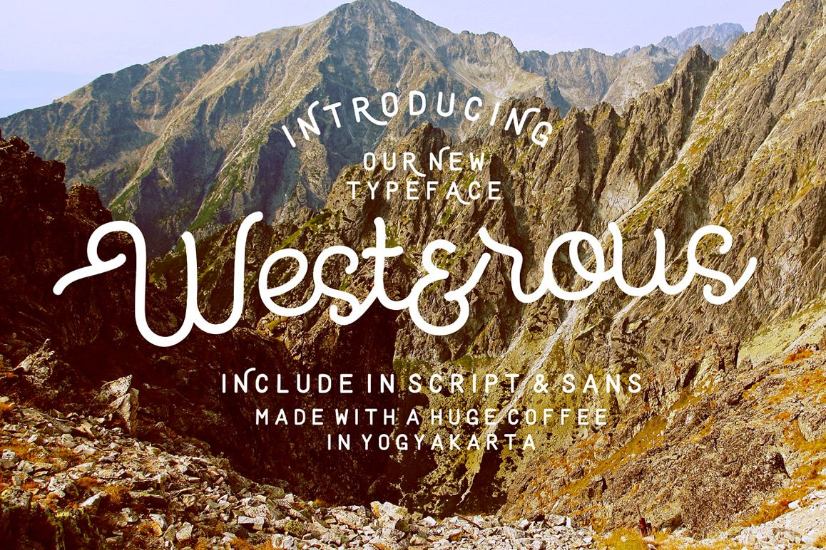 Westerous Font example image 1