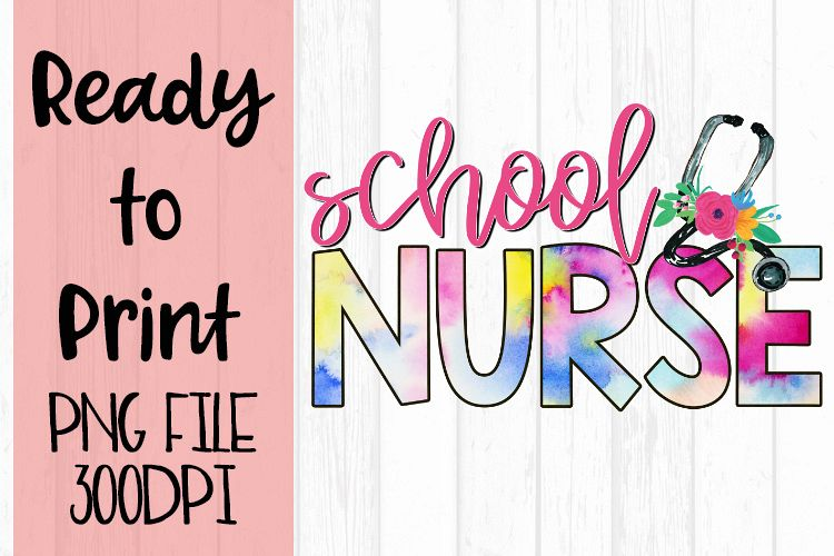 School Nurse Occupations Bright Ready to Print Design example image 1