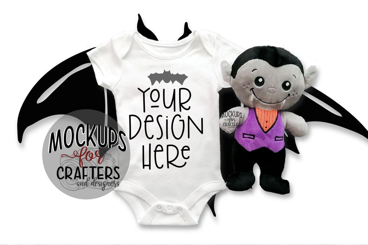 Halloween Baby Bodysuit - BONUS PHOTO INCL example image 1