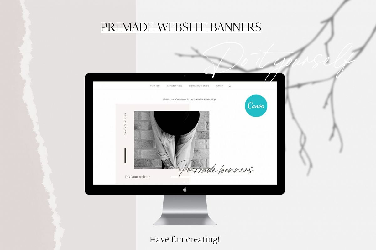 Premade website banners example image 1