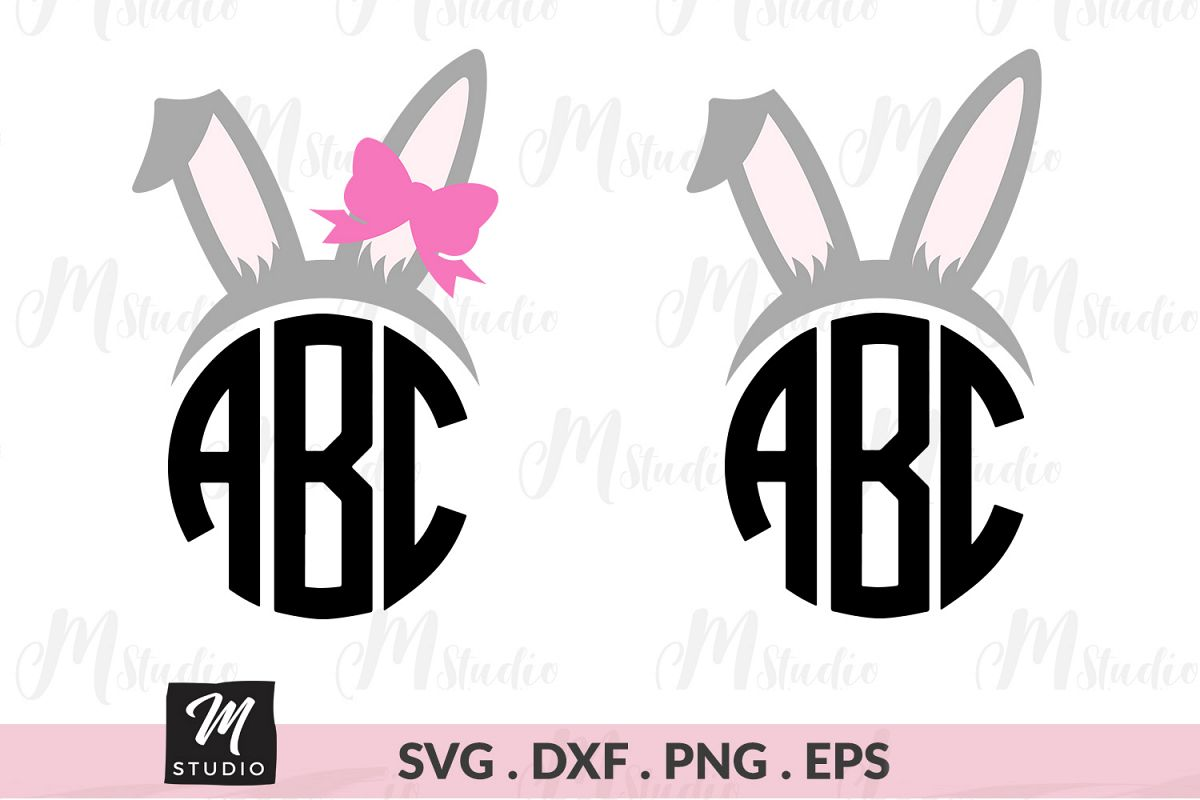 Bunny Ears svg. example image 1