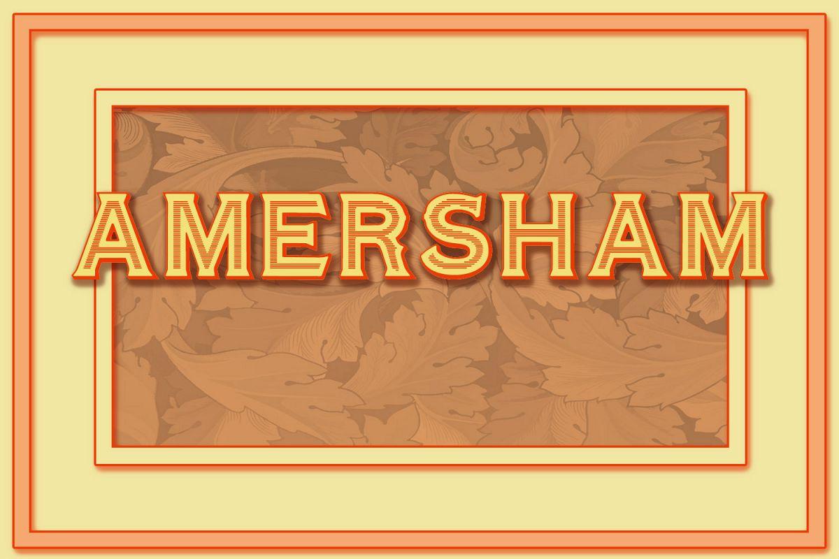 Amersham example image 1