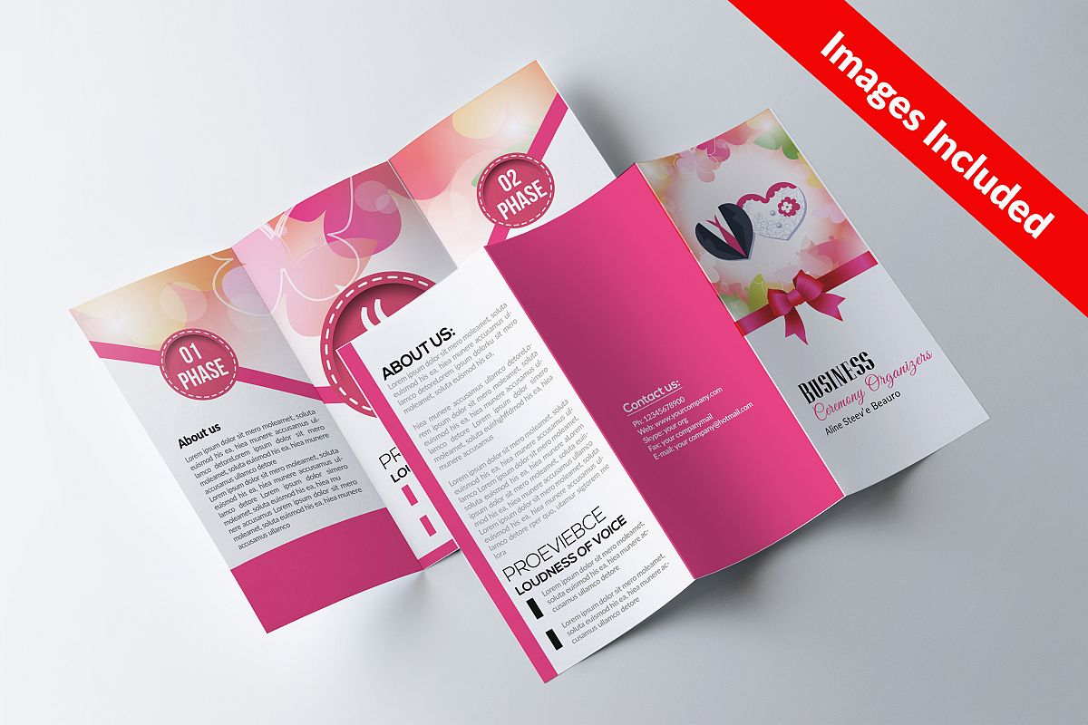 Wedding Trifolds Brochures example image 1