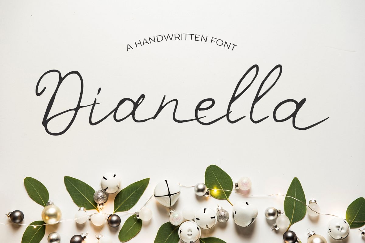Dianella Font example image 1