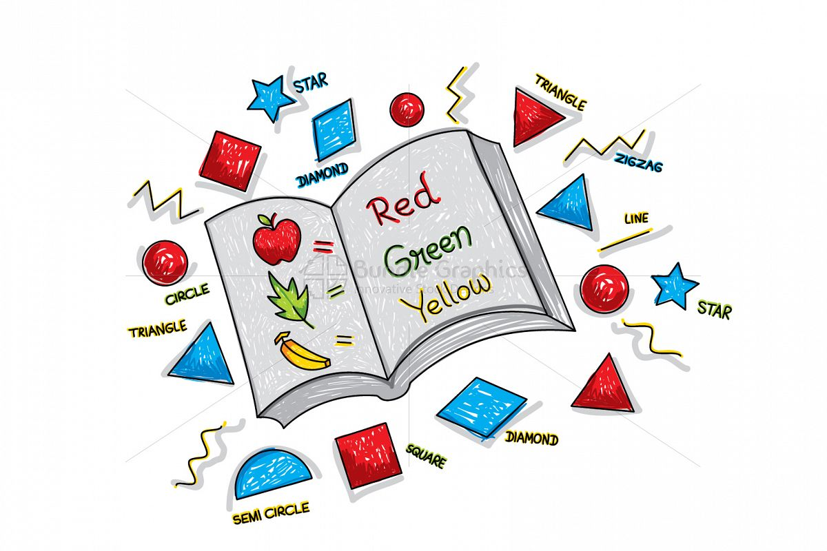 Primary Education Book Graphical Illustration example image 1