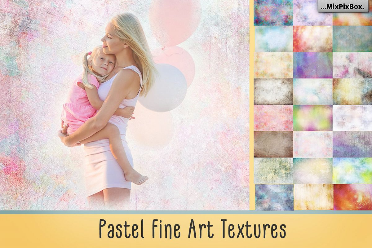 Pastel Fine Art Textures example image 1