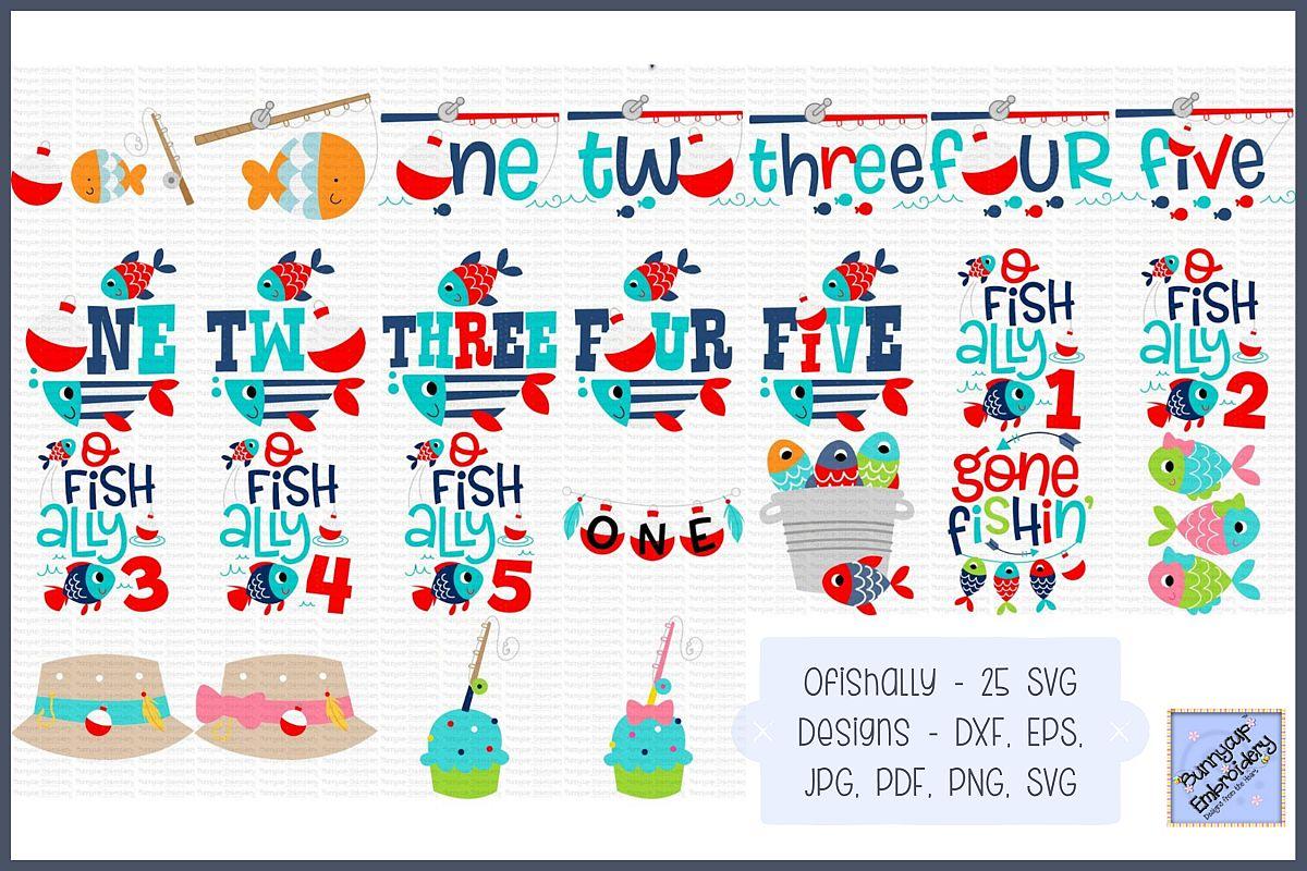 photo about O Fish Ally Printable referred to as Ofishally - SVG, Clipart, Printables - 25Programs