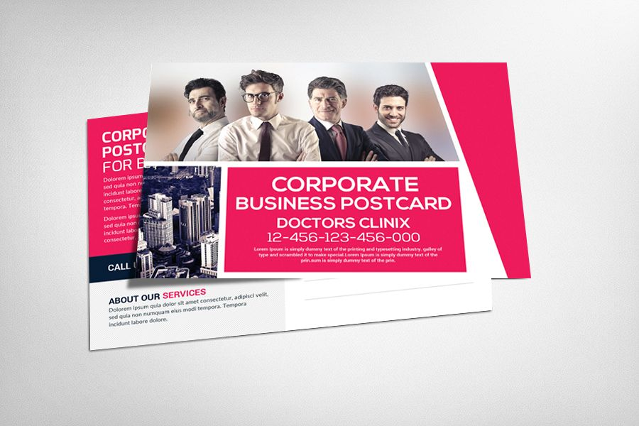 Marketing Corporate Business Postcard example image 1