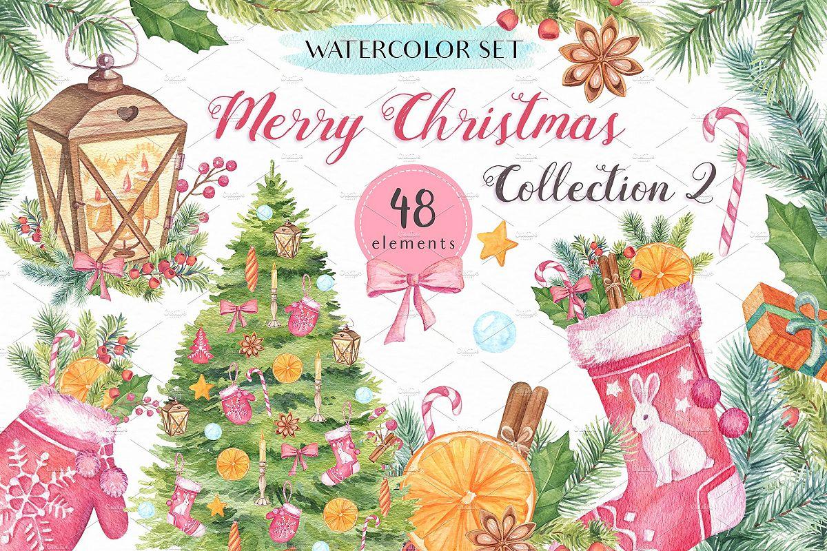 Merry Christmas Collection II example image 1