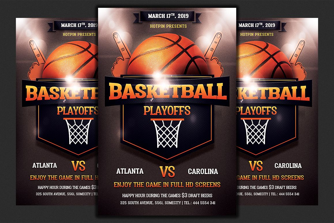 Basketball Flyer example image 1