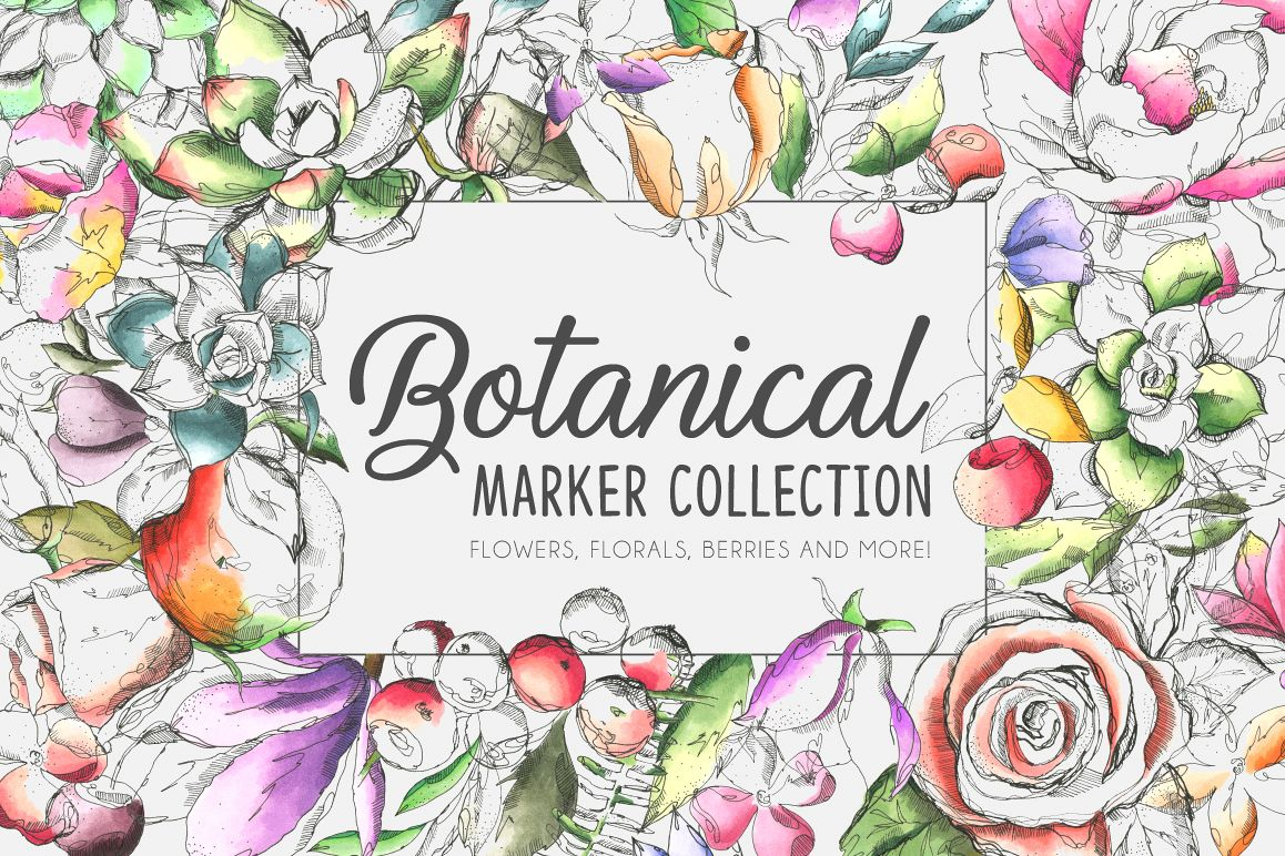 Botanic Marker Collection example image 1