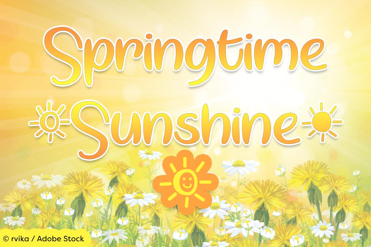 Springtime Sunshine example image 1