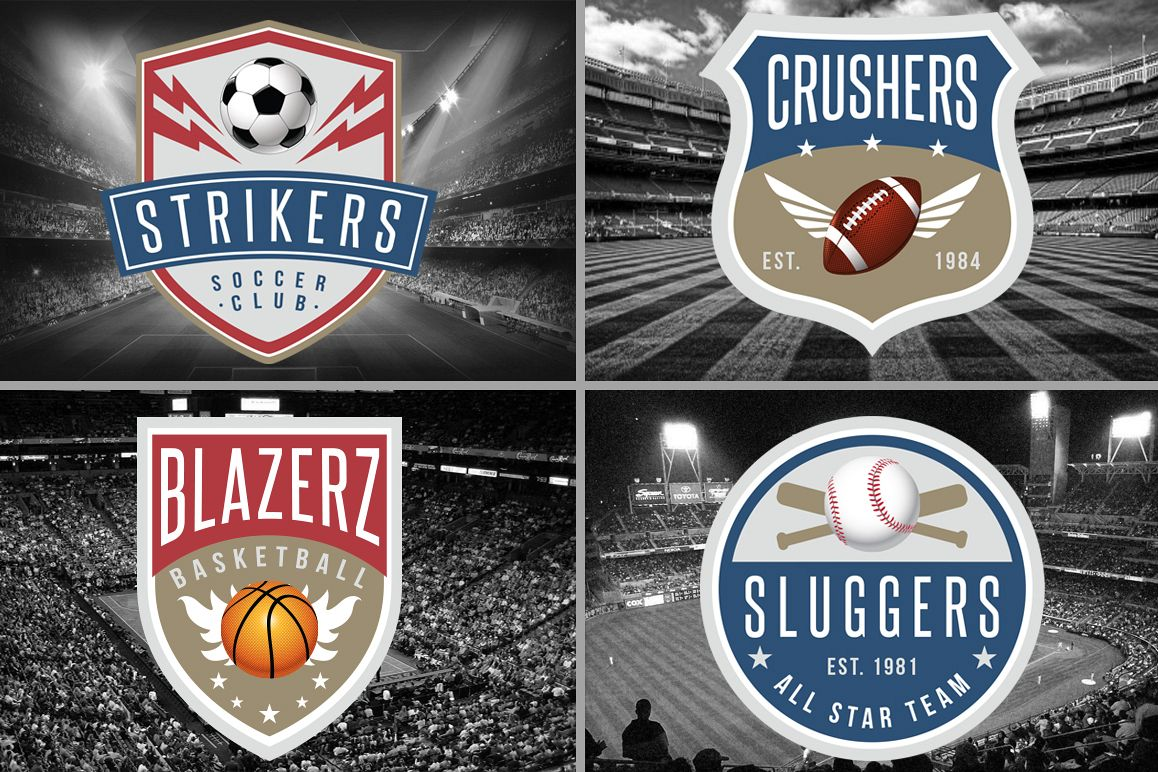 5 Sports Logos Templates example image 1