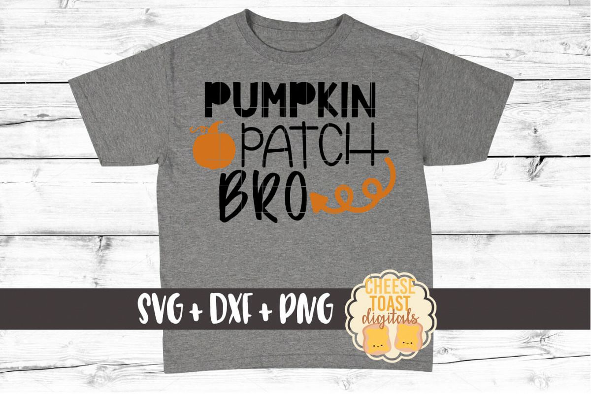 Pumpkin Patch Bro - Fall SVG File example image 1