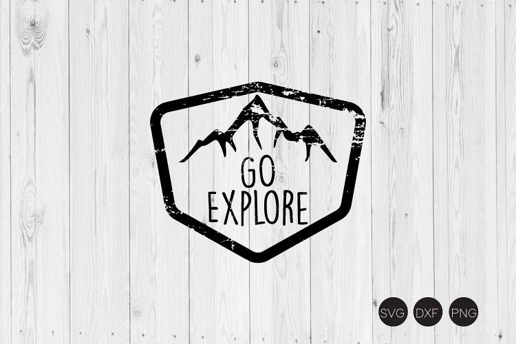 Go Explore SVG example image 1