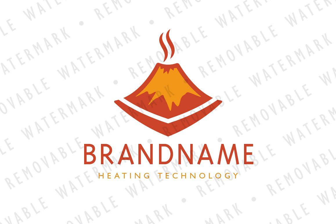 Smoldering Volcano Logo example image 1