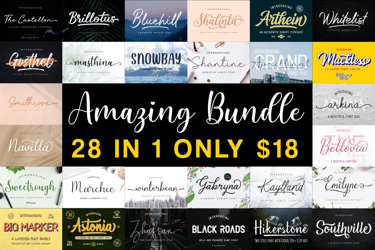 Amazing Bundle - Year End Sale!!! example image 1