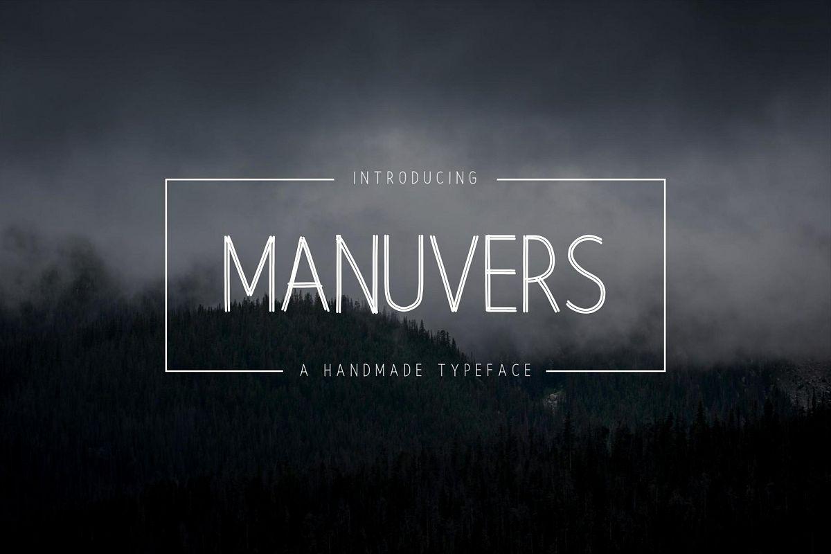 Manuvers - Handmade Sans Font - example image 1