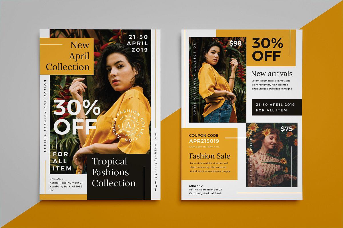 Aprilia - Fashion flyer example image 1