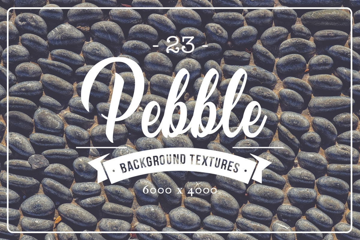 23 Pebble Background Textures example image 1