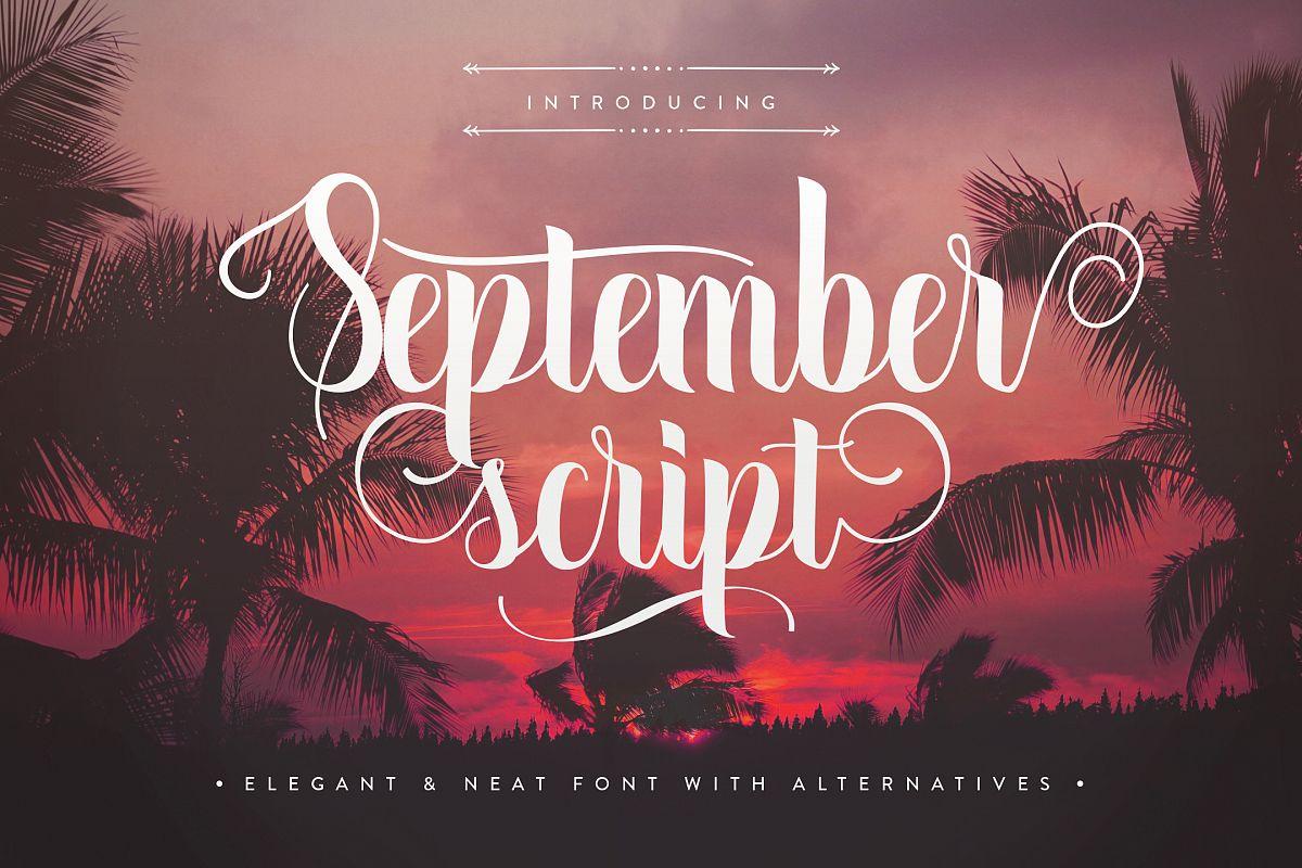 September Script example image 1