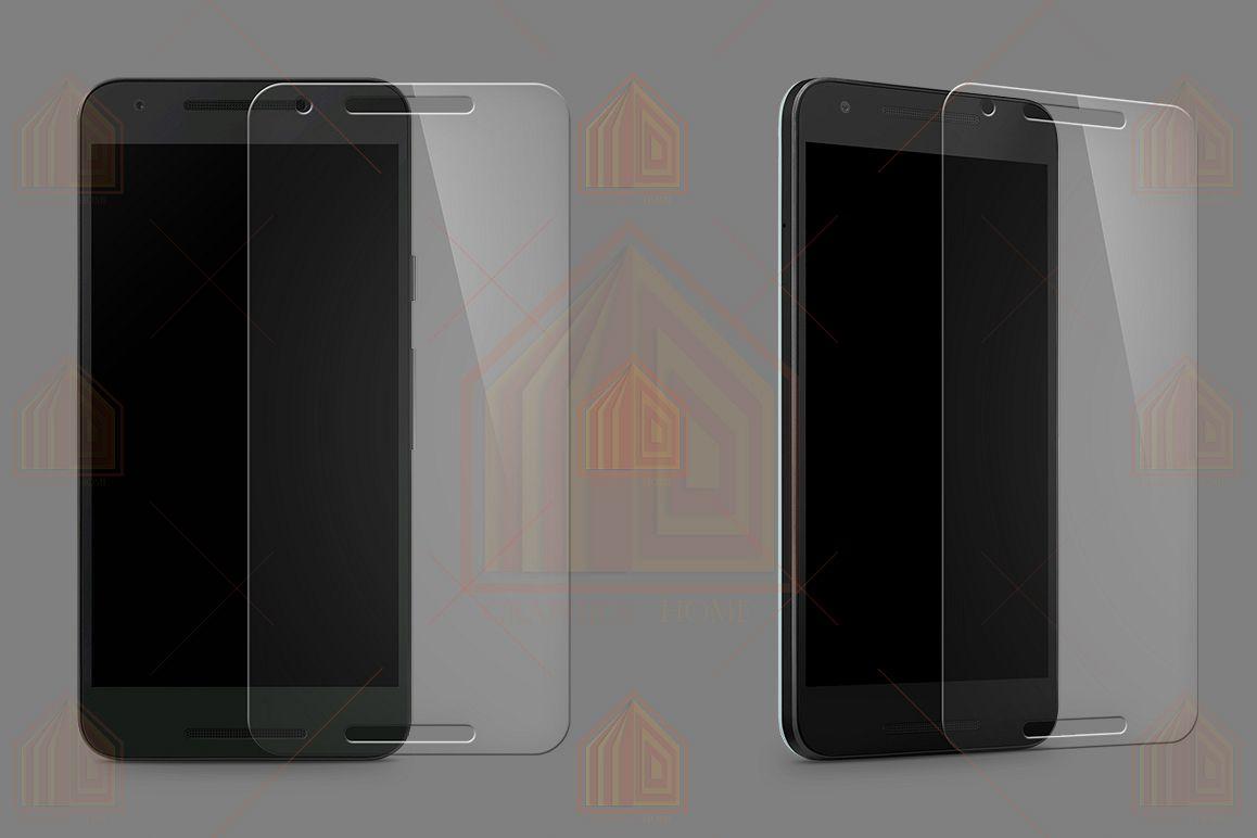 Google Nexus 5X Tempered Glass Template  example image 1