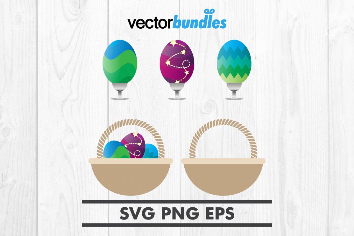Easter egg clip art svg example image 1