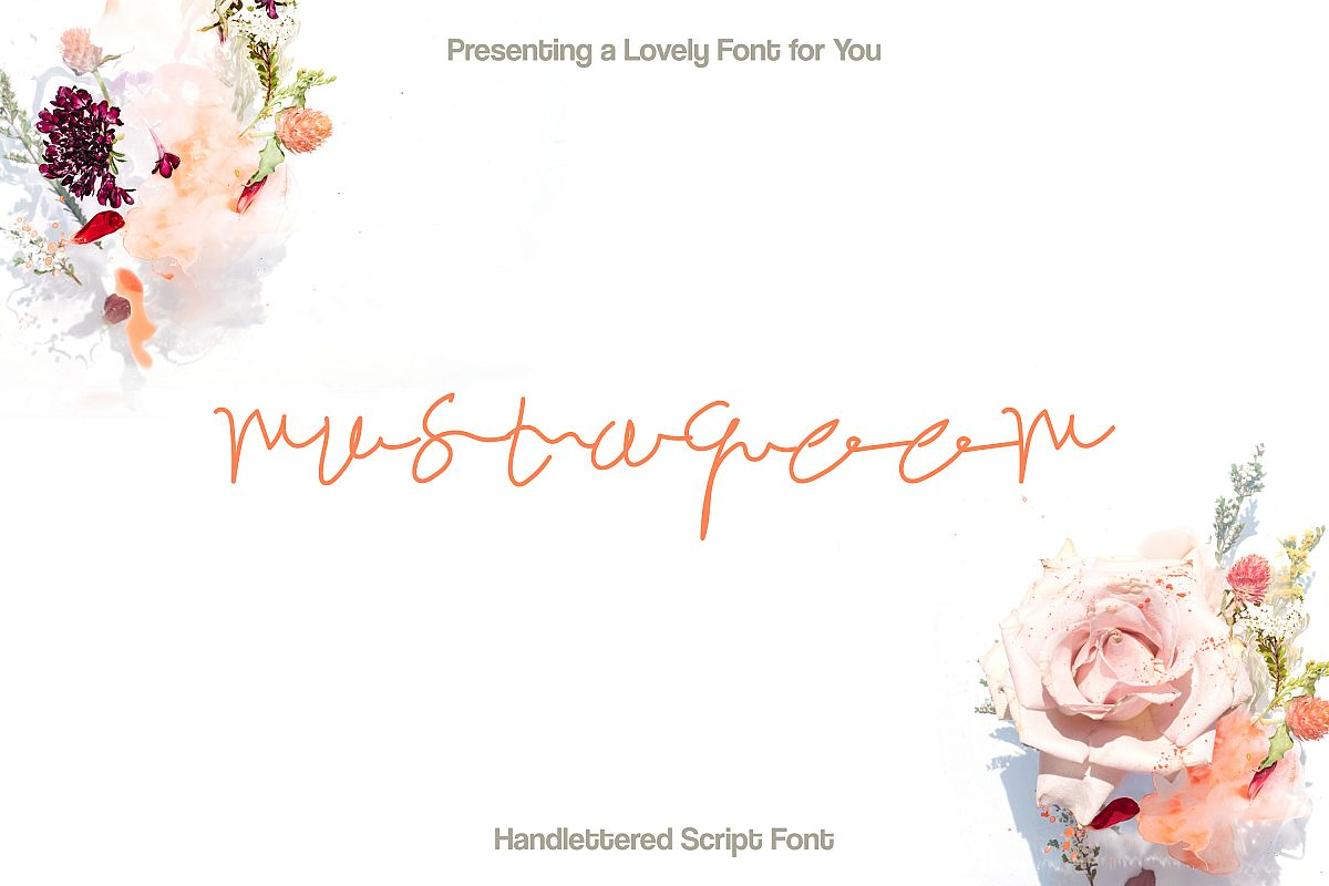 Mustaqeem - Handwritten Signature Font example image 1