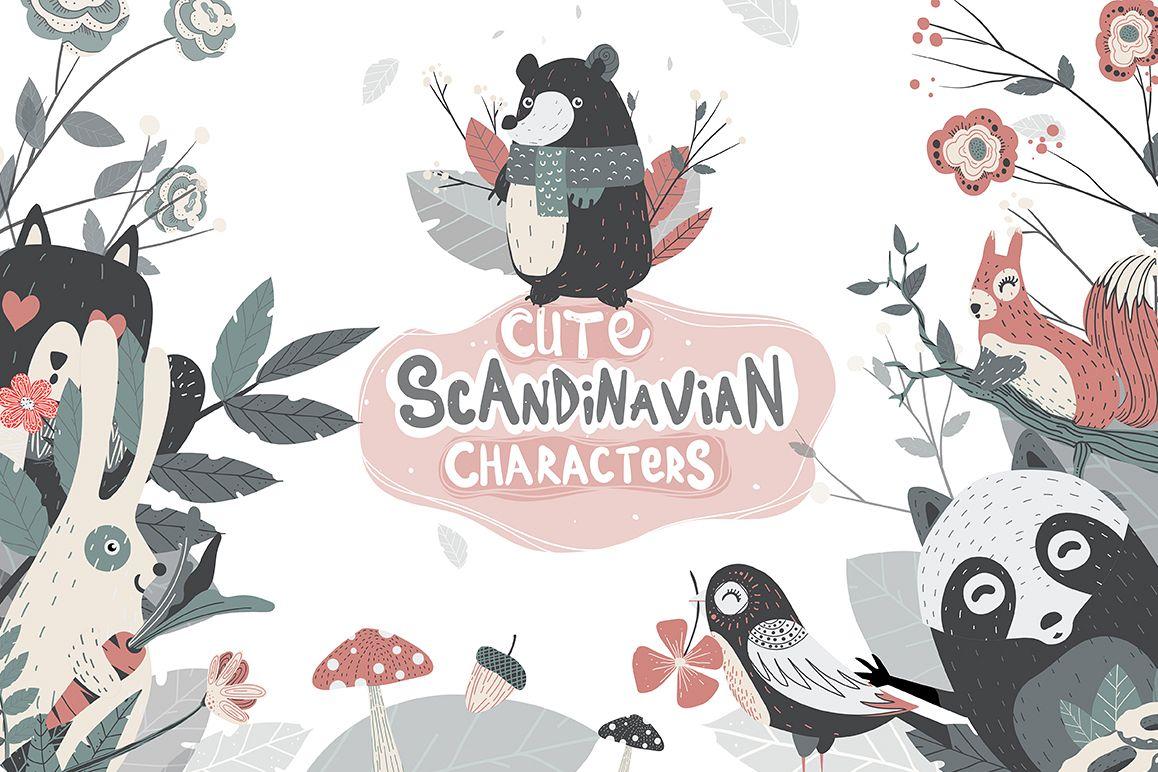 Cute Scandinavian Set example image 1