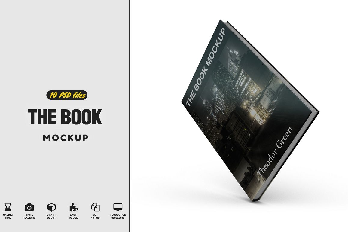 The Book Mockup example image 1