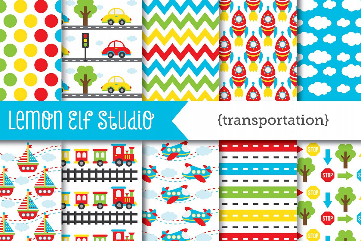 Transportation-Digital Paper (LES.DP01A) example image 1