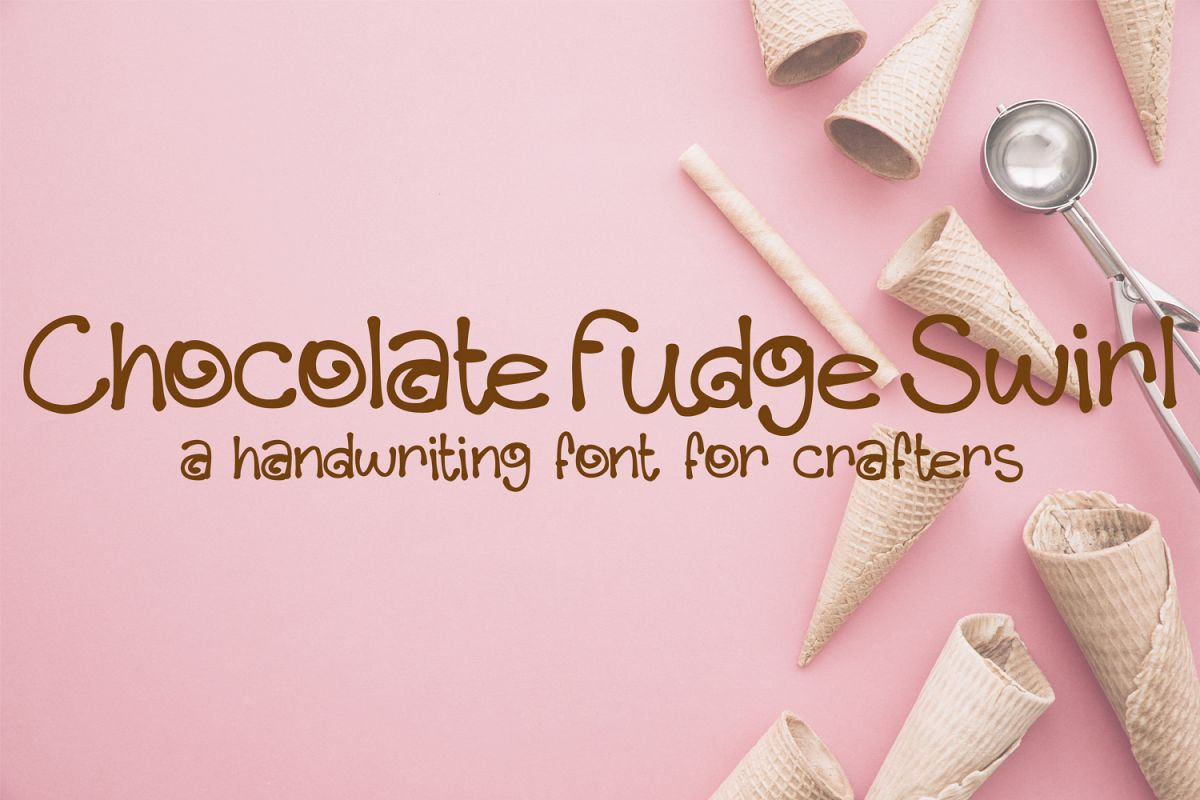 Chocolate Fudge Swirl example image 1