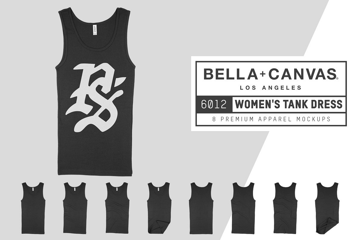 Bella Canvas 6012 Women's Tank Dress example image 1