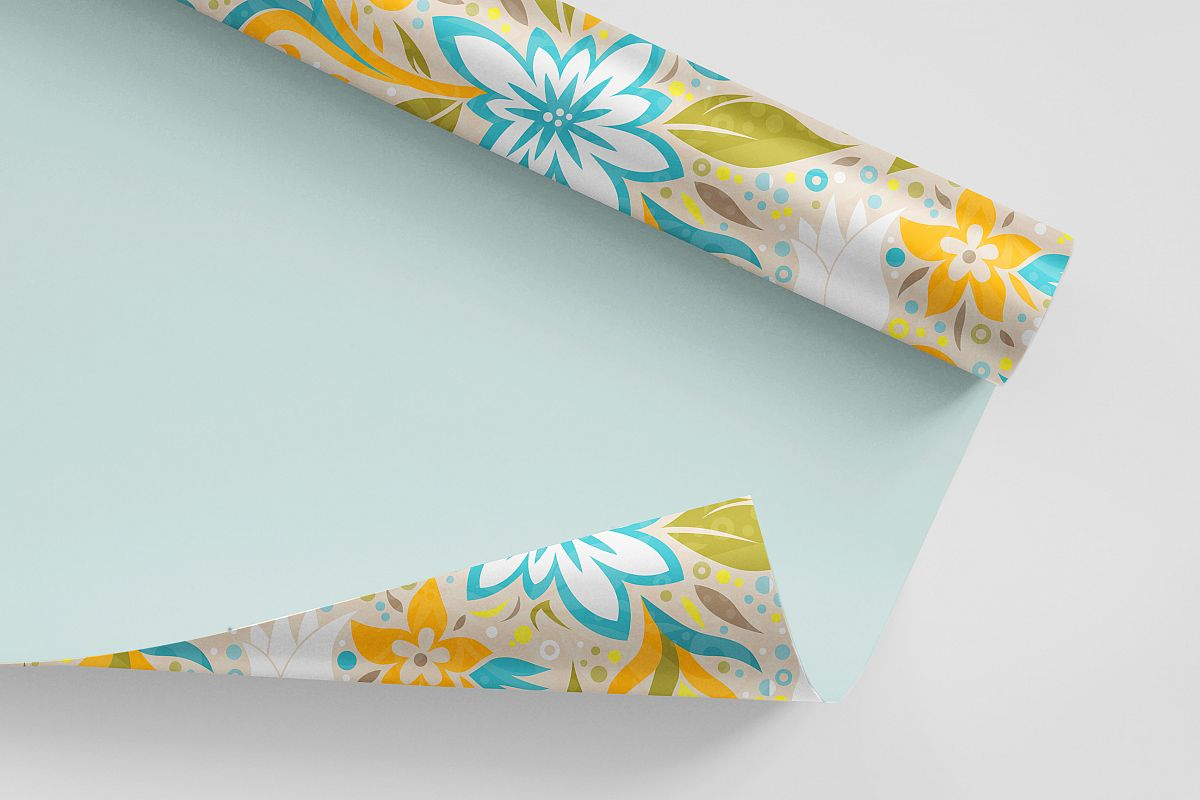 Floral Dynamic Vector Pattern example image 1