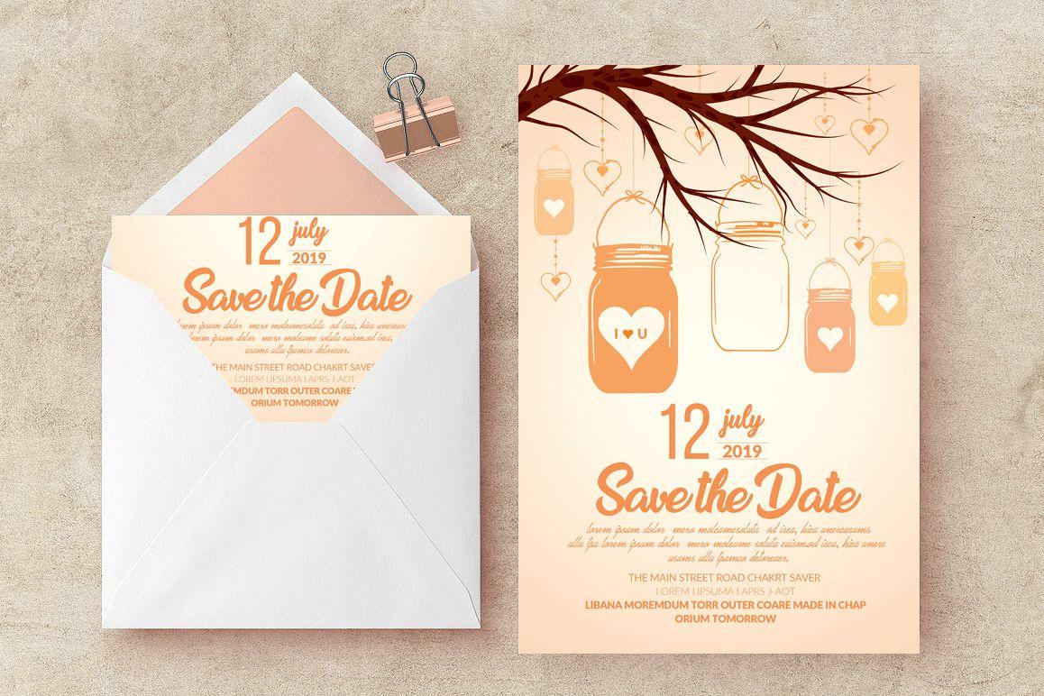 save the date invitation templates