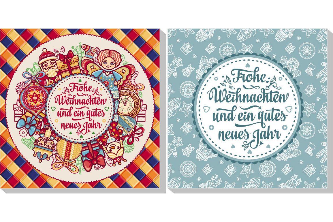 Frohe Weihnachten Aus Deutschland.Frohe Weihnacht Neues Jahr Happy Christmas In Deutschland